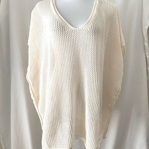 Pullover sweater LANE BRYANT 14-20 free size wrap